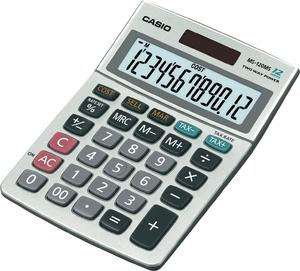 Casio MS120MS Desk Calculator VAT Function Dual Solar Powered Thumbnail 1