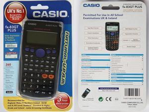 Casio FX83GTPLUS Scientific Exam GCSE A-Level Calculator Trigonometry Statistics Thumbnail 4