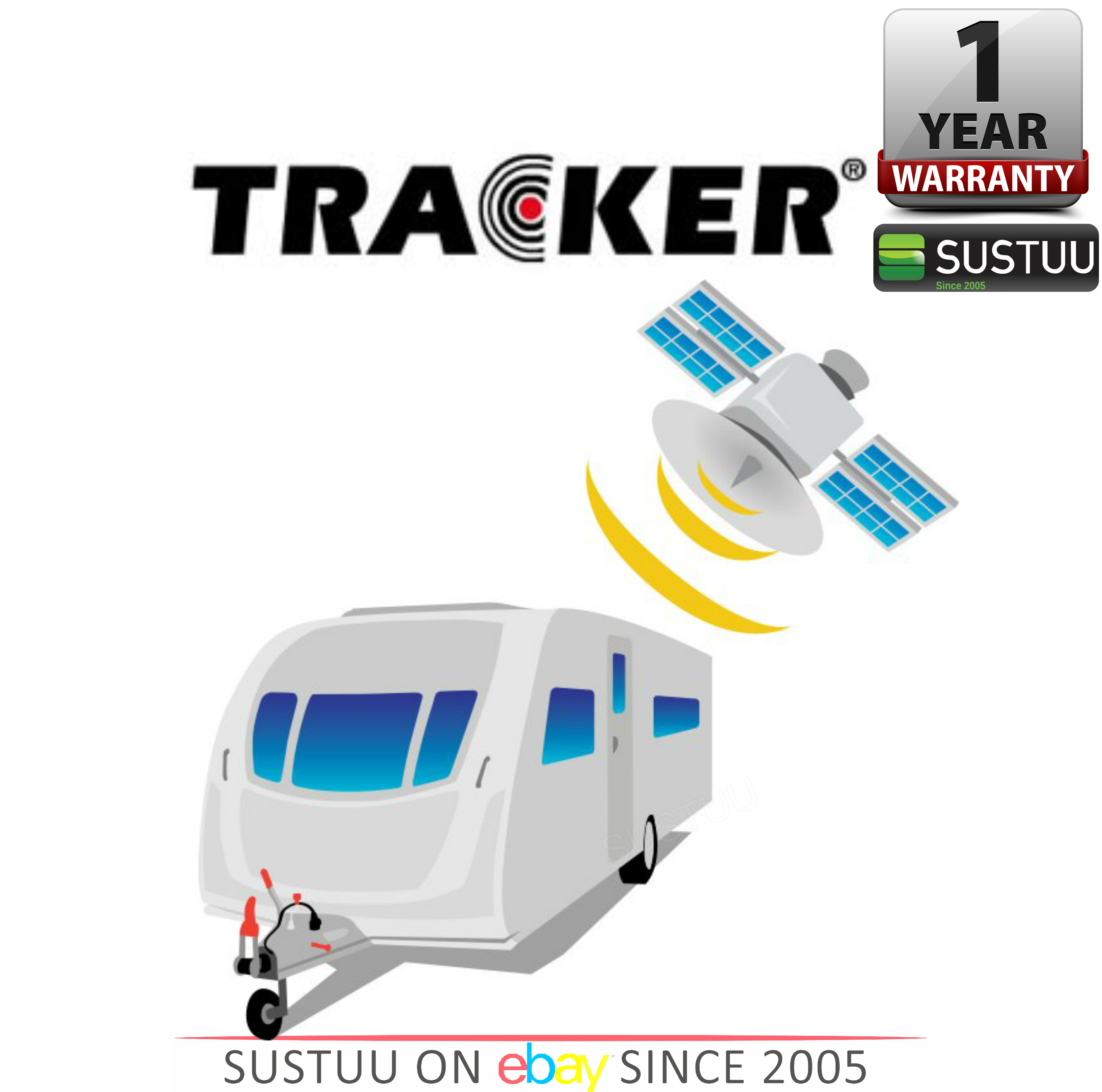 New Caravan Tracker/ Monitor With Remote Control up to 5 years battery life