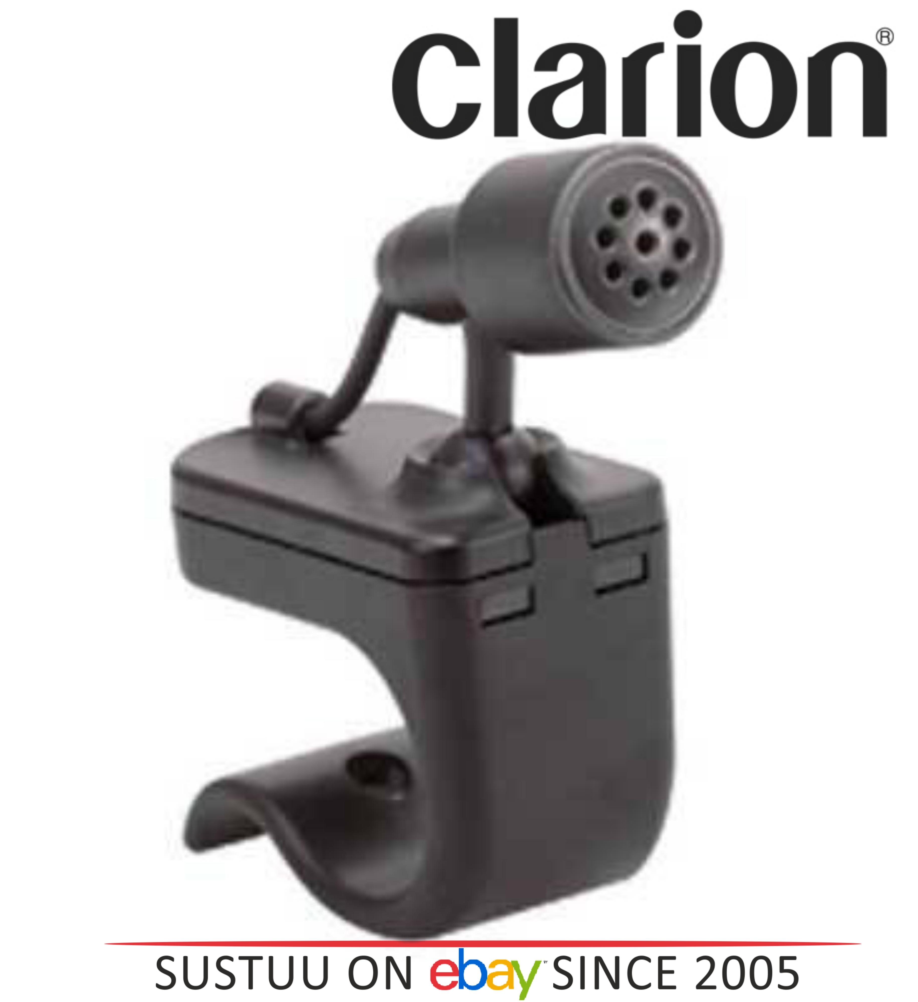 Clarion CGB 1289 Wireless Bluetooth Microphone Mini Jack Black 1YEAR WARRANTY