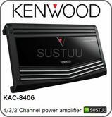 NEW Kenwood KAC 8406 4/3/2 900w Max Channel Speaker Car Power Amplifier