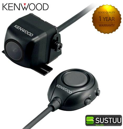 Kenwood CMOS-320 Reversing Camera for Compatible DNN, DNX or DDX Receiver - NEW Thumbnail 1
