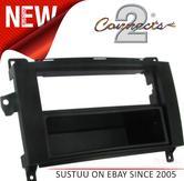 C2 24VW10 Vw Stereo Fascia Adaptor Plate(Black)Frame & Pocket 2Year Warranty NEW