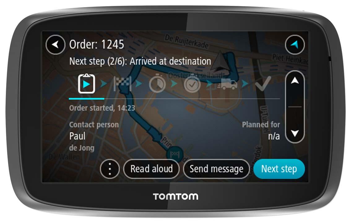 TomTom Pro 5250 Truck HGV GPS SatNav Traffic Update FREE LifeTime Western EU MAP
