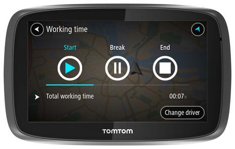 TomTom Pro 5250 Truck HGV GPS SatNav Traffic Update FREE LifeTime Western EU MAP Thumbnail 3