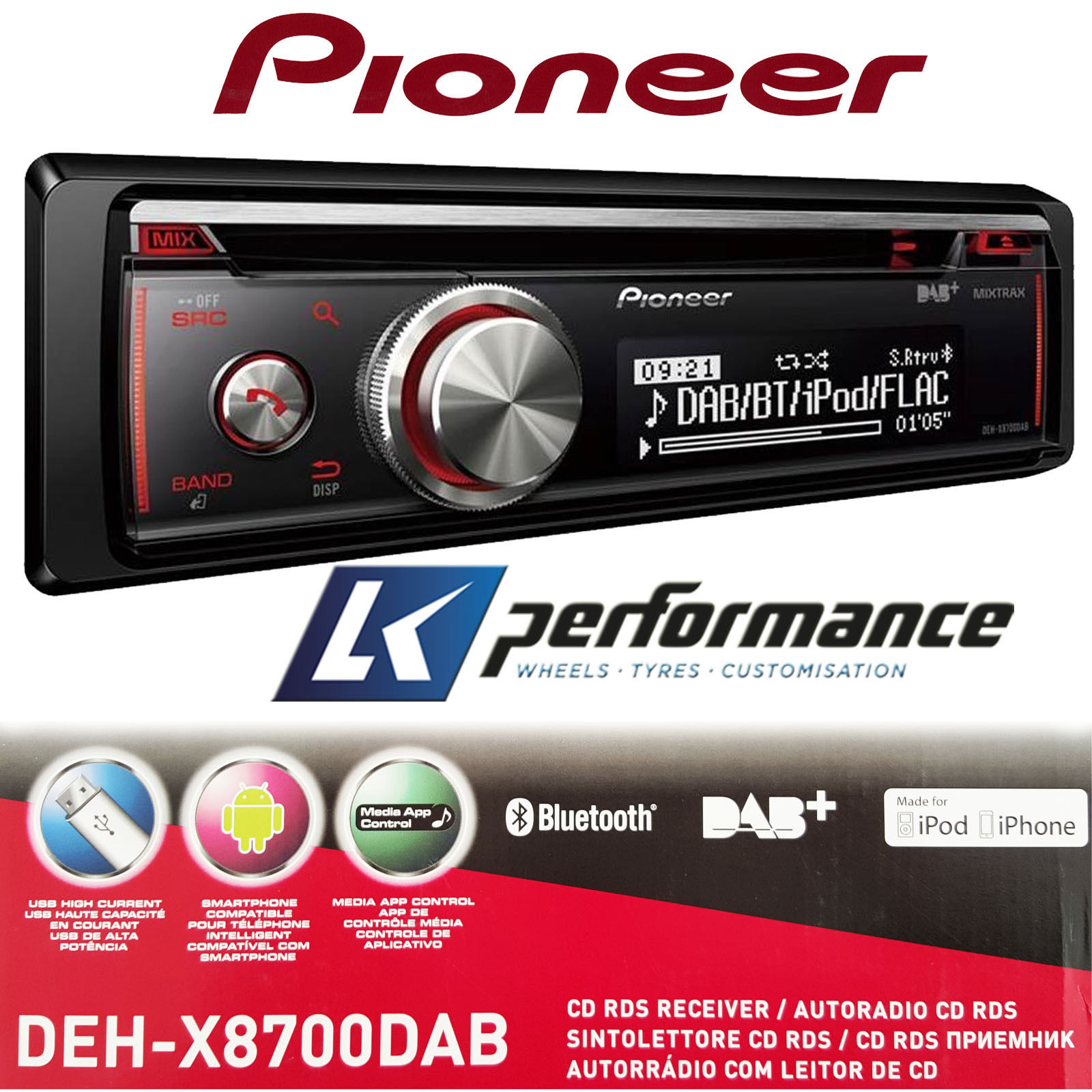 how to connect pioneer car stereo to android