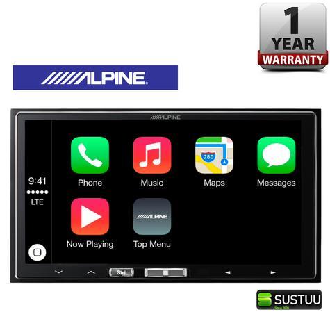 "Alpine ILX 700 7"" Apple Car Play GPS SatNav TouchScreen FM USB 3.5Aux Fit iPhone Thumbnail 1"