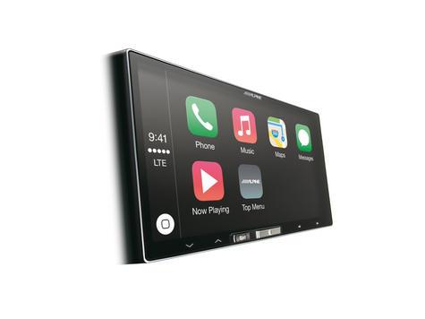 "Alpine ILX 700 7"" Apple Car Play GPS SatNav TouchScreen FM USB 3.5Aux Fit iPhone Thumbnail 2"