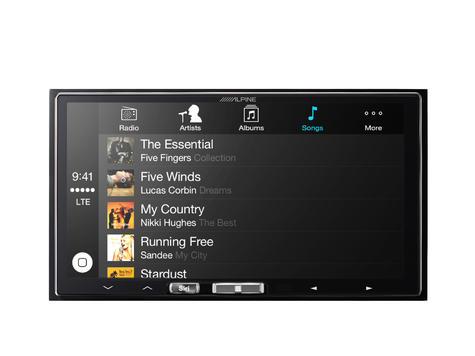 "Alpine ILX 700 7"" Apple Car Play GPS SatNav TouchScreen FM USB 3.5Aux Fit iPhone Thumbnail 7"