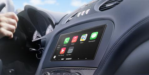 "Alpine ILX 700 7"" Apple Car Play GPS SatNav TouchScreen FM USB 3.5Aux Fit iPhone Thumbnail 4"