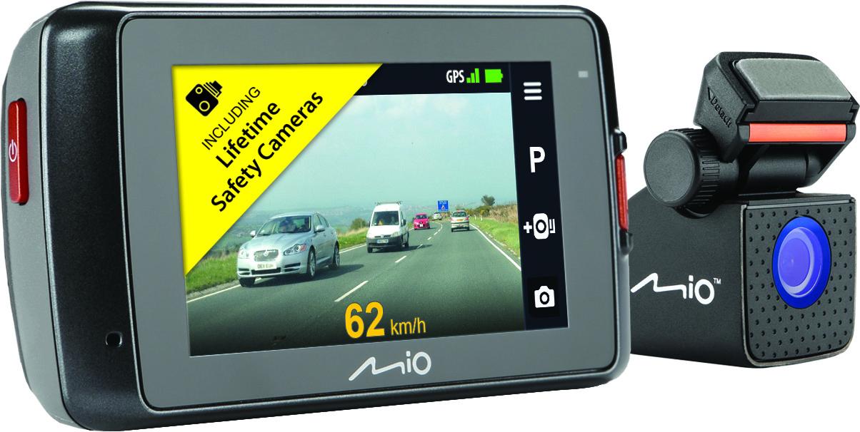 "MIO MIVUE 698 Dual 2.7"" DVR Front & Rear 1080p HD GPS DashCam Accident Recorder Thumbnail 3"
