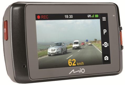 "MIO MIVUE 698 Dual?2.7"" DVR?SuperHD Front-Rear Dash Camera?GPS?Accident Recorder Thumbnail 3"