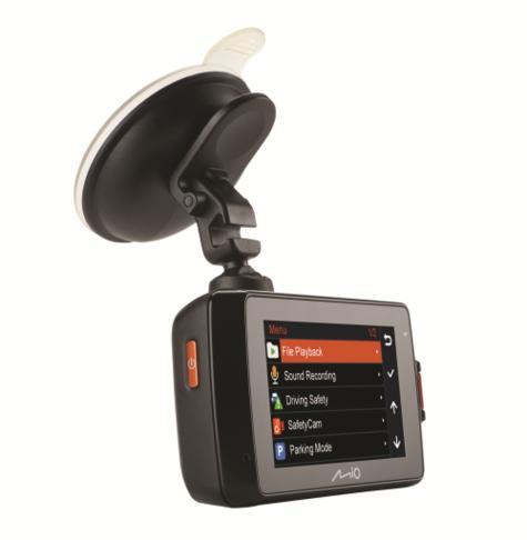"MIO MIVUE 698 Dual?2.7"" DVR?SuperHD Front-Rear Dash Camera?GPS?Accident Recorder Thumbnail 6"