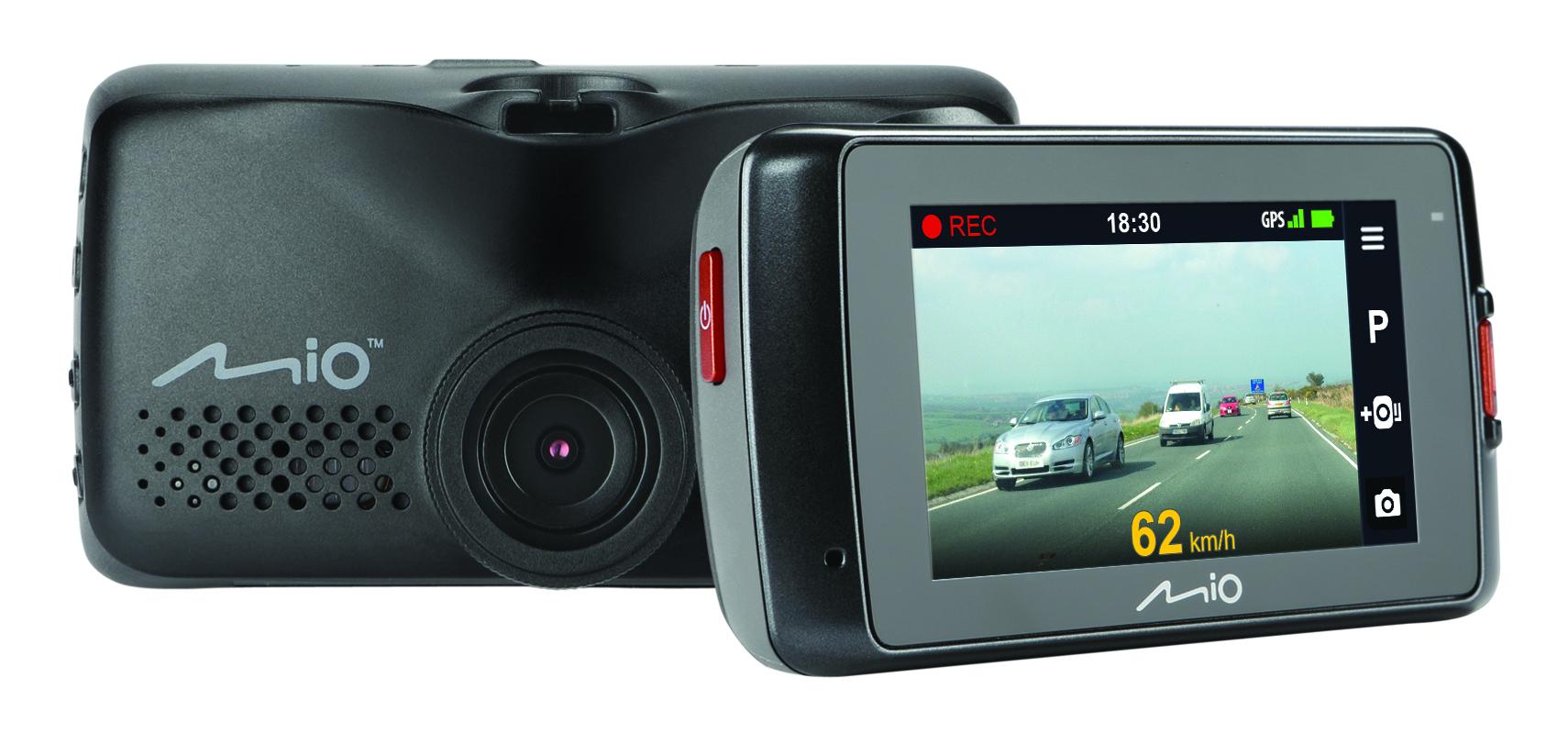 "MIO MIVUE 698 Dual 2.7"" DVR Front & Rear 1080p HD GPS DashCam Accident Recorder Thumbnail 2"