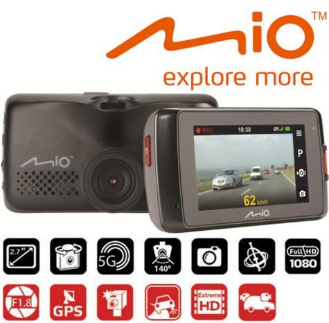 "MIO MIVUE 698 Dual?2.7"" DVR?SuperHD Front-Rear Dash Camera?GPS?Accident Recorder Thumbnail 2"