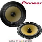 Pioneer TS E171CI  E Motion 2 Way Componentl Car Door Shelf Speakers 17cm 260W