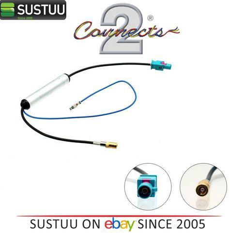 100% Genuine C2 27AA111 Male Fakra - SMB Female Antenna Adapter 1Year WARRANTY Thumbnail 1