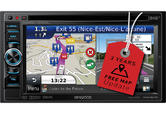 "Kenwood DNX-450TR - 6.1"" DVD Receiver Truck/Camper Sat Nav Bluetooth DAB Stereo"