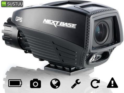 "Nextbase Ride Motorcycle 1.5"" Bike Cam Video Camera GPS HD 1080P IPx6 Waterproof Thumbnail 1"