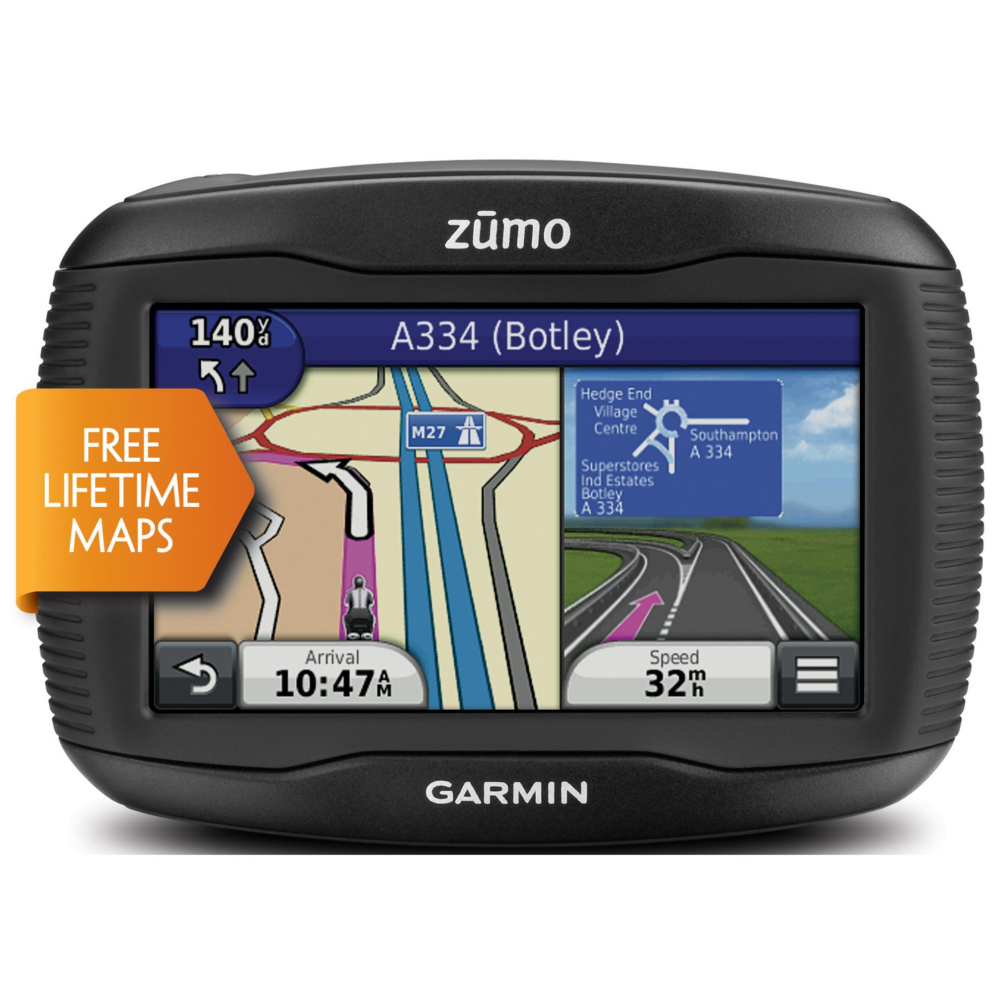 new garmin zumo 395lm europa uk gps navi motorrad. Black Bedroom Furniture Sets. Home Design Ideas