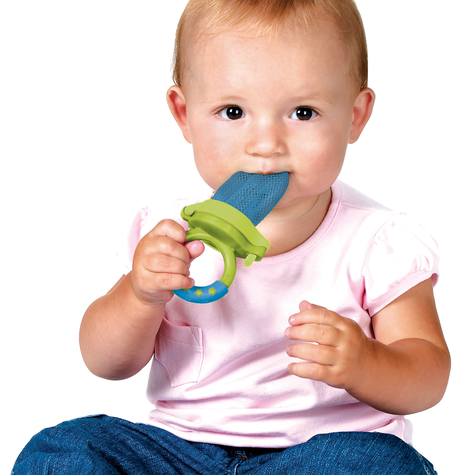 Munchkin Baby Easy Grip And Fresh Food Squeezer Nibbler Toddler Feeder +6 Months Thumbnail 7