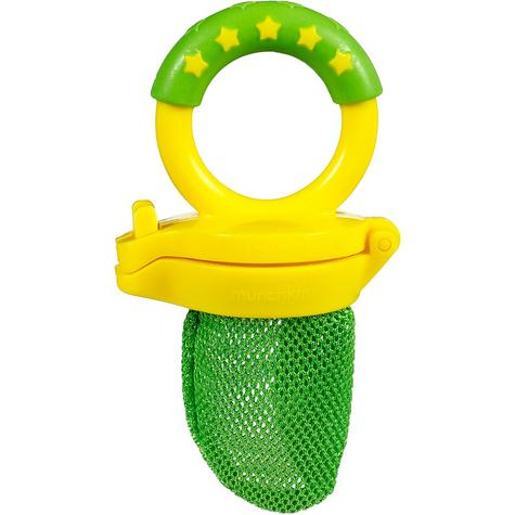 Munchkin Baby Easy Grip And Fresh Food Squeezer Nibbler Toddler Feeder +6 Months Thumbnail 3
