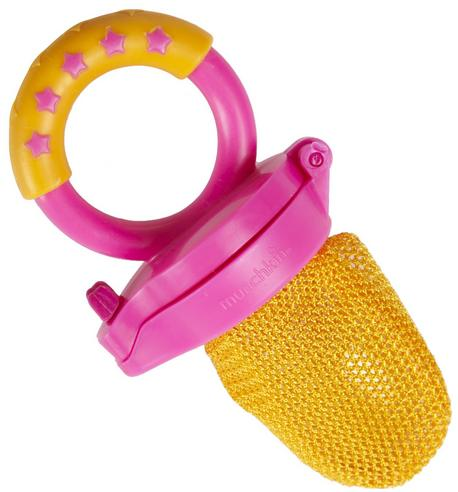 Munchkin Baby Easy Grip And Fresh Food Squeezer Nibbler Toddler Feeder +6 Months Thumbnail 6