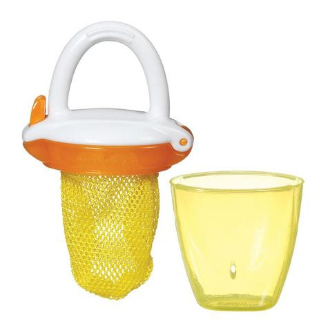 Munchkin Safe Easy Deluxe Baby Fresh Food Travel Feeder With Cap BPA Free +6m Thumbnail 5