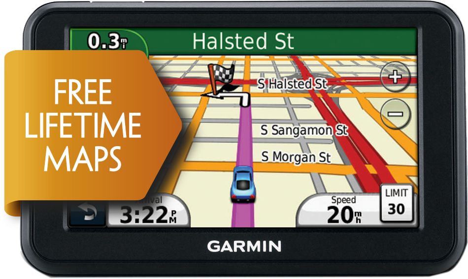 Garmin Nuvi Lm Gps Satnav  Lcd Uk Full Europe Free Lifetime Map Updates