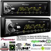 Pioneer MVH X580DAB Car Stereo AM/FM Bluetooth USB DAB+ Spotify Apple Android
