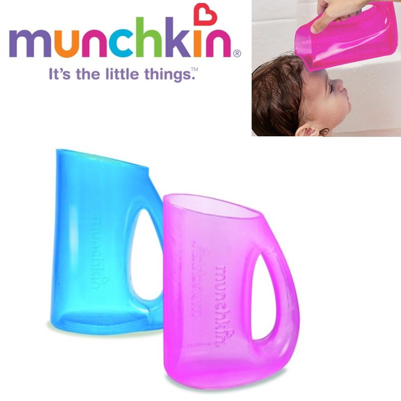Munchkin Baby Soft Rim Flexi Tear-free Bath Time Shampoo Rinser Toddler Jug +6m