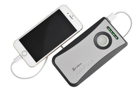 NEW Cobra CPP 8000 JumPack Car Jump Starter Powerbank 6000mAh Phone Charger Thumbnail 3