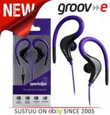 Groov-e Sports Over Ear Earphones for iPhone/iPod/MP3/Android Smartphones VIOLET