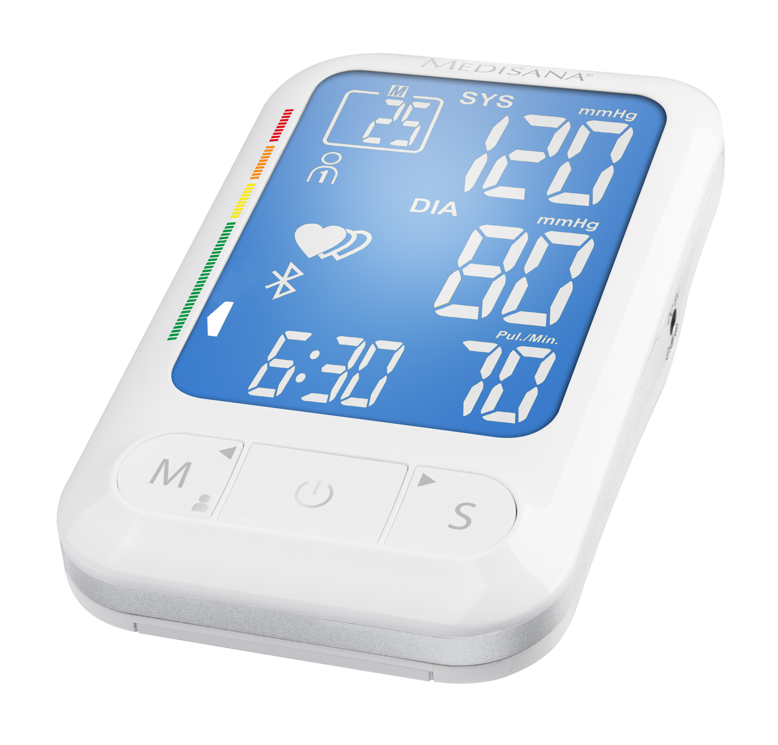 Medisana Accurate Upper Arm Blood Pressure LCD Monitor With Bluetooth BU550