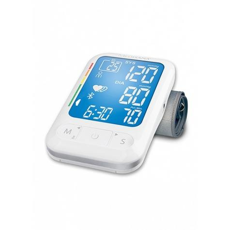 Medisana Accurate Upper Arm Blood Pressure LCD Monitor With Bluetooth BU550 Thumbnail 2