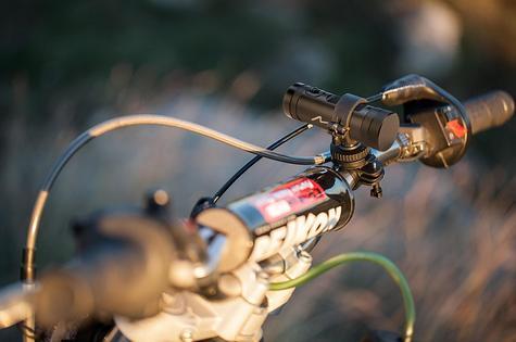 NEW MIO MiVue M510 Motorbike Bike Bicycle Helmet Video Camera Recorder HD 1080p Thumbnail 4
