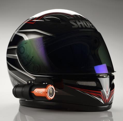 NEW MIO MiVue M510 Motorbike Bike Bicycle Helmet Video Camera Recorder HD 1080p Thumbnail 3