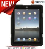 Griffin Survivor Shockproof Military Duty Case for iPad 2/3/4 - Black  GB35108-3
