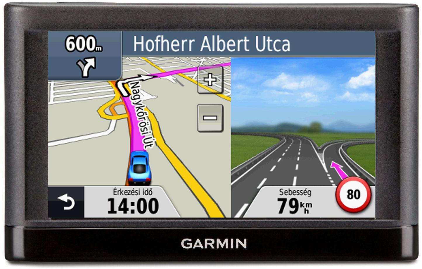 Garmin Nuvi 54 GPS SAT NAV 5 Display Lifetime 2016 UK Full Europe