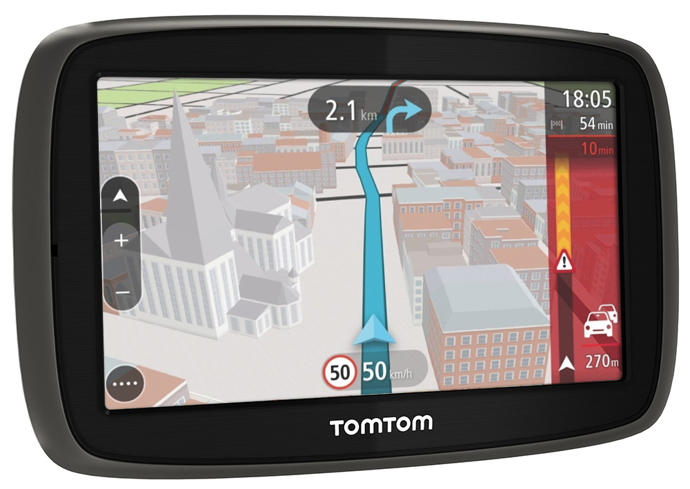 tomtom go 40 gps satnav uk ireland lifetime map updates traffic via phone ebay. Black Bedroom Furniture Sets. Home Design Ideas