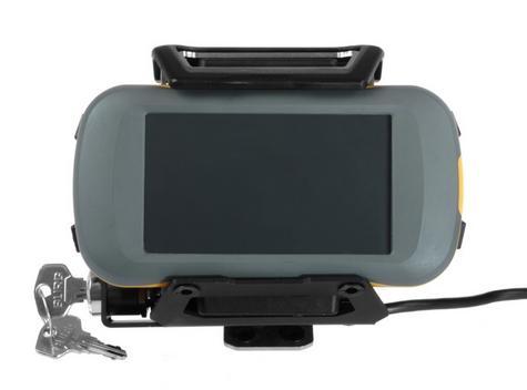 Touratech Lockable Mount For Montana 600 GPS SAT NAV Series Black for Motorbike Thumbnail 3