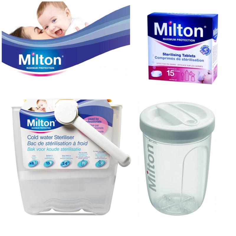 milton baby utensils cold water steriliser solo travel. Black Bedroom Furniture Sets. Home Design Ideas