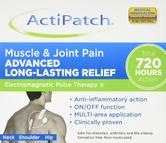 ActiPatch Muscle & Joint Pain Relief Neck Shoulder Hip Clinically Proven Lasting