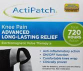 ActiPatch Knee Pain Relief Therapy Clinically Proven for Arthritis Tendonitis
