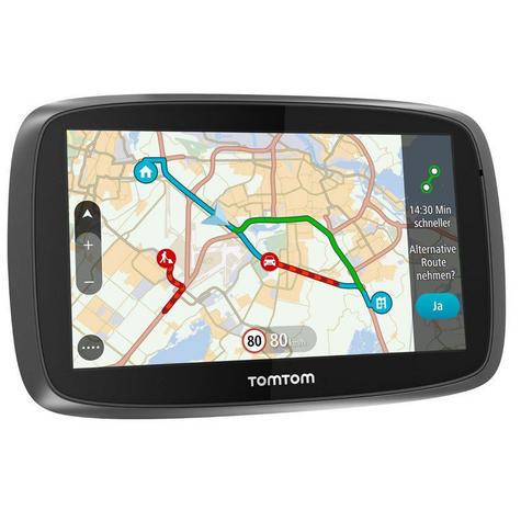 TomTom Trucker 6000 Lifetime Edition  GPS SatNav UK EU Maps-Live Traffic-Cameras Thumbnail 5