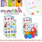 Munchkin Baby Bath Kneeler Safety Grippy Dot Haet Senses / Non-Slip Dot Bath Mat