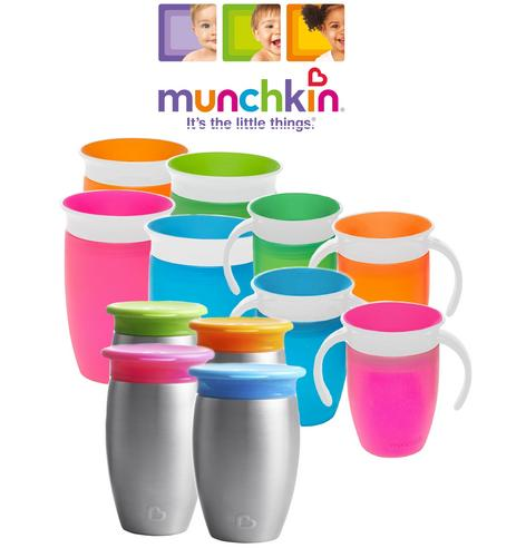 Munchkin Miracle Non-Spill 360 Degree Seal Proof Valve Toddler Sippy Cup 6-12m Thumbnail 1