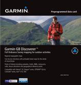 Garmin GB Discoverer Great Britain Topographic Maps SD Card 1:50k 010-C1043-00