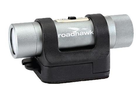 RoadHawk Bullet R+ Moto Edition 1080p HD Motorcycle Helmet camera Black Box NEW Thumbnail 3