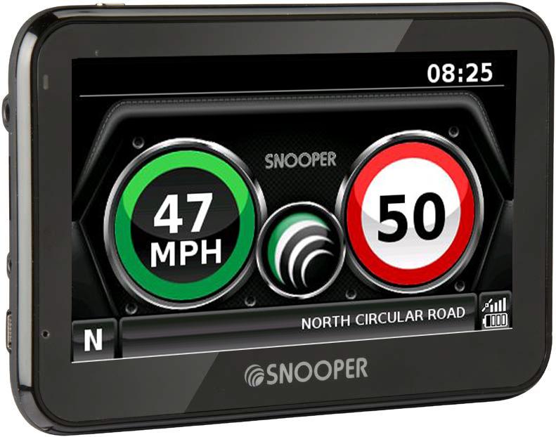Snooper My Speed XL GPS Traffic Camera Trap & Speed Limit Detection System